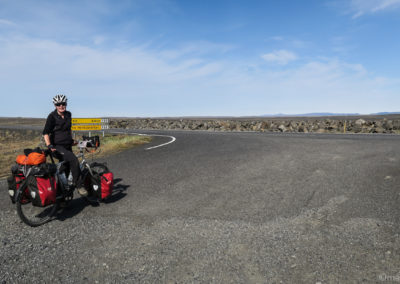 A vélo en Islande, de retour sur la ringroad N° 1