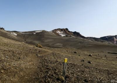 Le sentier de Dreki au lac de vitit est bien balisé