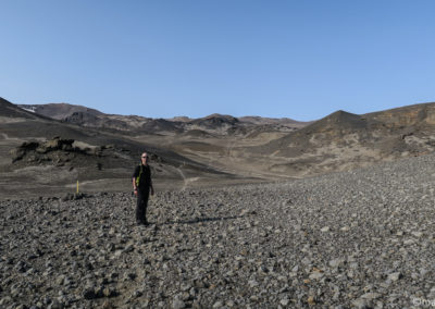 Randonnée de Dreki au lac de Viti