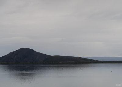 Ambiance matinale au Lac de Myvatn