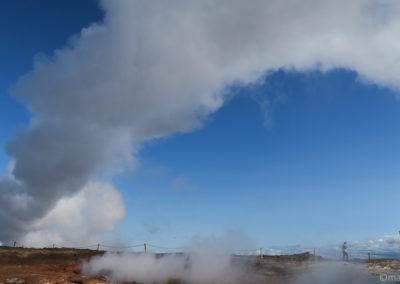 La vapeur de Gunnuhver