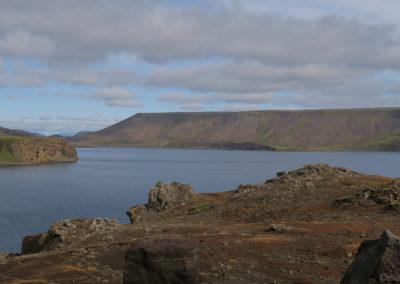 Lac de Kleifarvatn - la vue est toujours belle