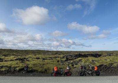 Petite pause entre Hafnarfjördur et Krysuvik