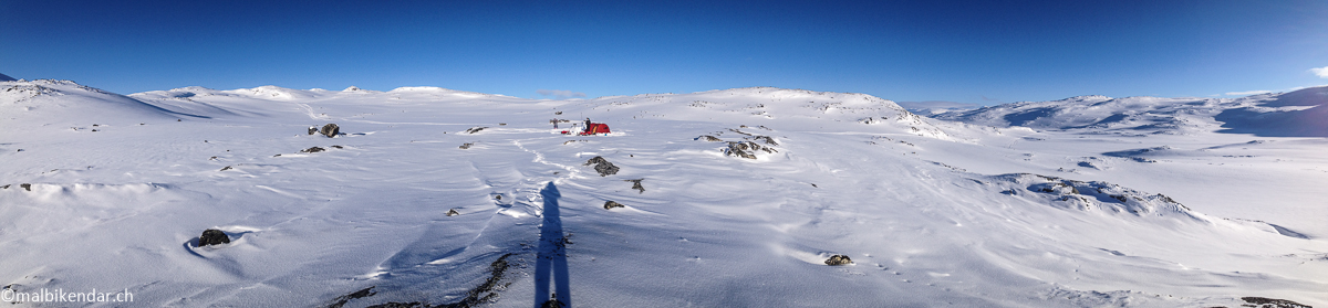 Camp du - 20°, ski, pulka, trekking hivernal, laponie suédoise