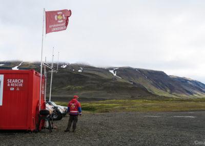 ICE-SAR le sauvetage islandais la station de Nyidalur
