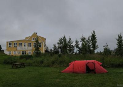 Le camping de Fossholl - Godafoss