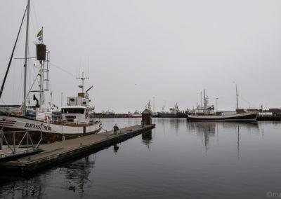 Le port de Husavik