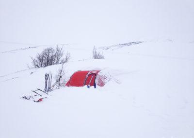 Laponie suédoise en skis et pulka – 12 jours en autonomie