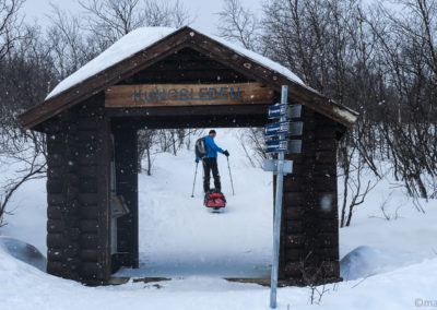 Porte d'entrée de la Kungsleden