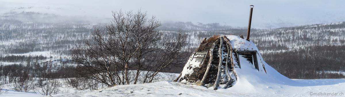 Goathi - Kota - Kata, maison traditionnelle samie