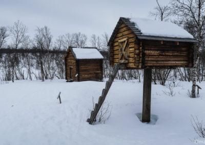 Village Sami à Abisko