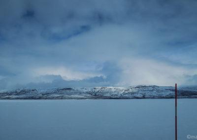 La beauté des paysages enneigés de la Laponie suédoise