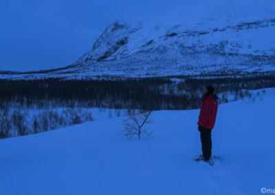 Le Camp du Silence porte bien son nom sur la Kungsleden