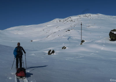Laponie suédoise près du lac Gatterjavri