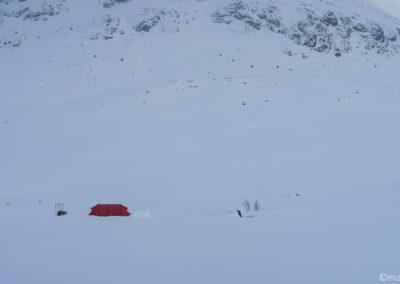 Notre camp en ski et pulka