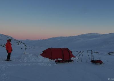 Laponie suédoise en ski et pulka