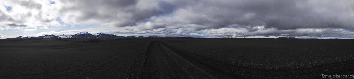 Voyage vélo en Islande Piste F26
