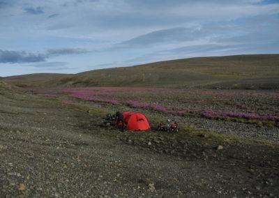 Voyage vélo en Islande Piste F26 - la sprengisandur