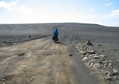Voyage vélo en Islande Piste F26 - traversée Sprengisandur