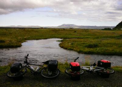 Voyage vélo en Islande Ringroad no. 1