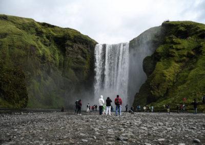 Voyage vélo en Islande - Skogafoss