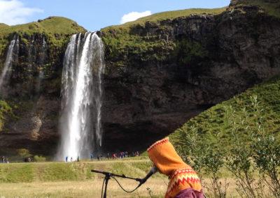 Voyage vélo en Islande Seljalandsfoss-1397