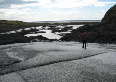 Voyage vélo en Islande Skaftafell