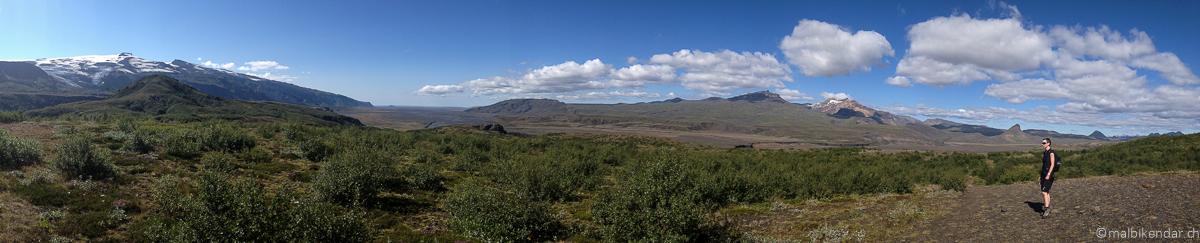 Voyage vélo en Islande Thorsmörk-1