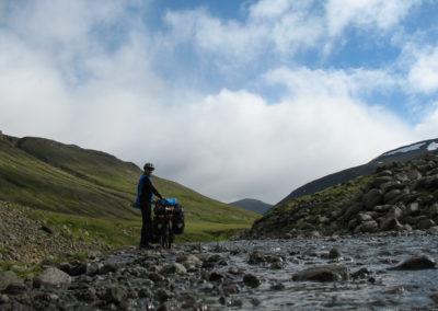 On remonte la très belle vallée Eyjafjardardalur