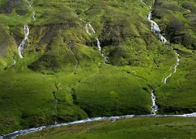 Voyage vélo en Islande Vallée Eyjafjardardalur à vélo