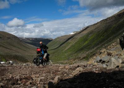 Voyage vélo en Islande Vallée Eyjafjardardalur