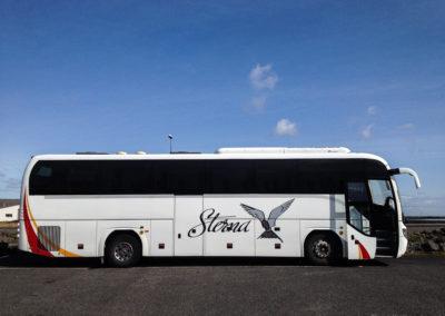 Voyage vélo en islande - retour en bus