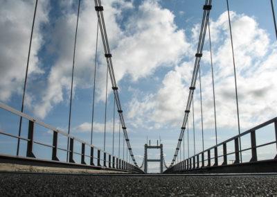Voyage vélo en Islande - pont près de Jökulsarlon