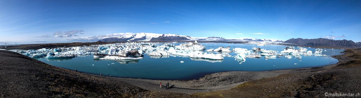 Voyage vélo en Islande Jökulsarlon