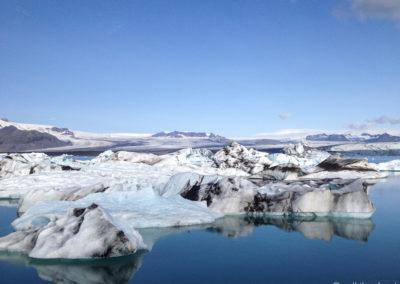 Voyage vélo en Islande - Jökulsarlon