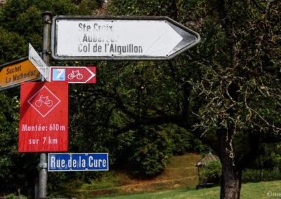 Jura à vélo - Col de l'Aiguillon